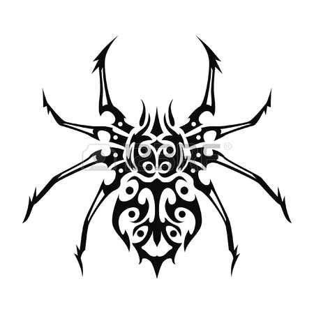 tribal spider tattoo 24 mind blowing spider tattoos designs
