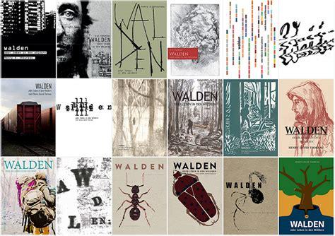 walden book poster plakatausstellung zu 187 walden 171 studienart