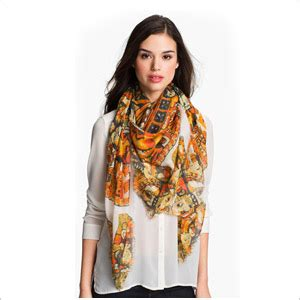 wearing a scarf on your styloss