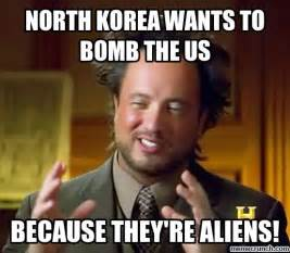 North Korea Meme - north korea aliens