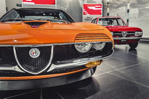 the cars that built the legend inside museo storica alfa