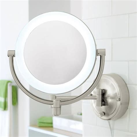 Magnifying Bathroom Mirror With Light | best 25 wall mounted makeup mirror ideas on pinterest