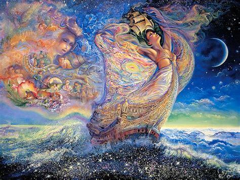 paint dream josephine wall fantasy art paintings ocean of dreams