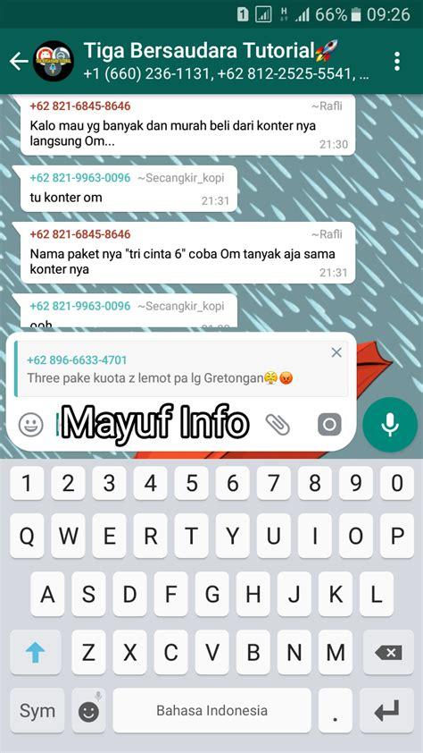 cara membuat quotes cara membuat quote di whatsapp untuk mengutip percakapan