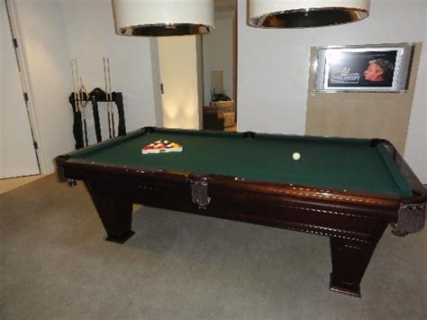 pool table picture of skylofts at mgm grand las vegas