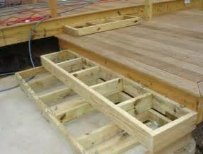 Stairs Without Stringers by Build Deck Stairs Without Stringers Home Design Ideas