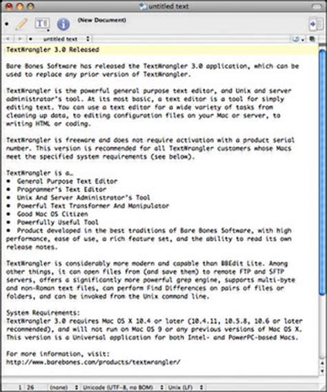 format html with textwrangler free textwranger 3 0 a steal