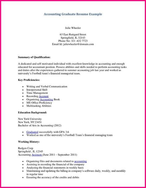 application letter for accounting technician fresh graduate sle resume for computer science fresh graduate resume