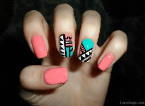 Tribal nail design pictures photos and images for facebook tumblr