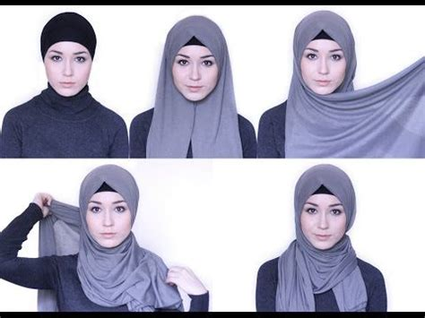 simple hijab tutorial youtube hijab tutorial 4 styles with loop scarf youtube