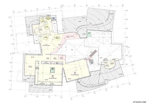 plan com sanaa s proposal new national gallery ludwig museum i ii