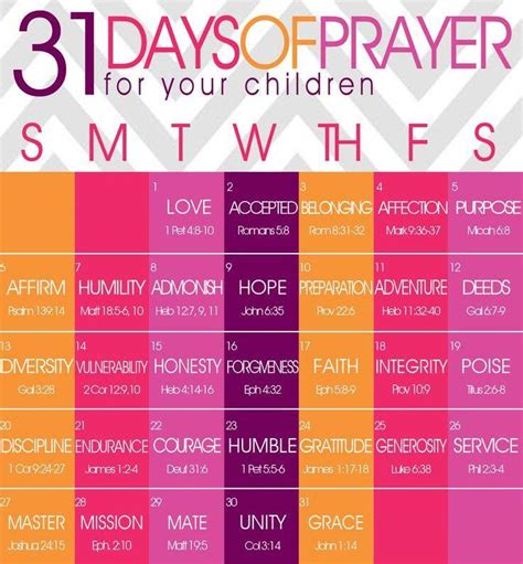 printable children s prayers 31 days of prayer for your children life 88 5 life 88 5