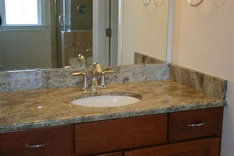 a guide for selecting the bathroom countertops