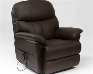 restwell recliner chairs restwell lars leather electric recliner chair