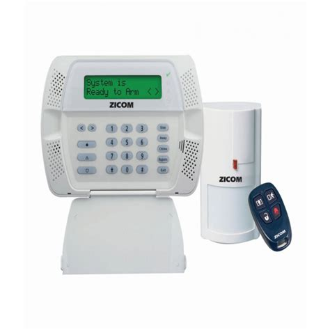 zicom home alarm system gold kit jal electricals
