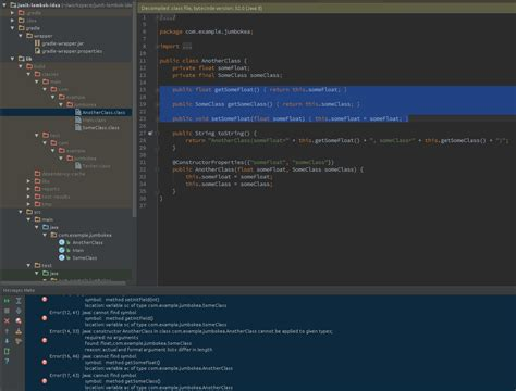 Lombok Code Dev intellij idea cannot see lombok generated code java