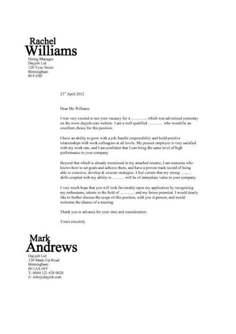 application letter for design a design that will make your cover letter stand out and