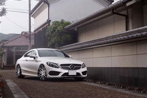 Mercedes C43 Tieferlegung by Mercedes C43 Amg C205 Auf Forgiato Maglia Felgen
