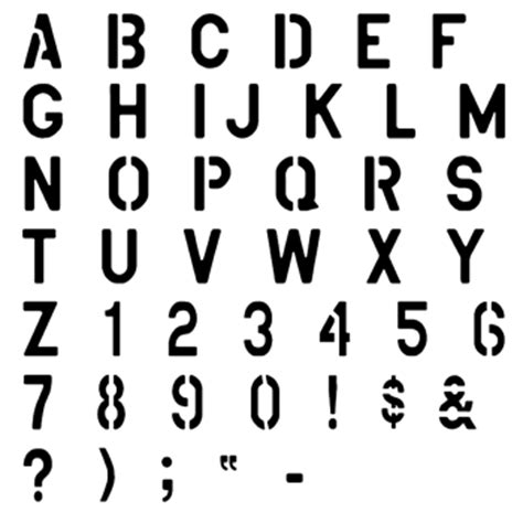 spray paint font lowercase stencil