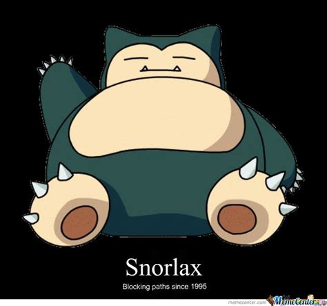 Snorlax Meme - snorlax by bench meme center