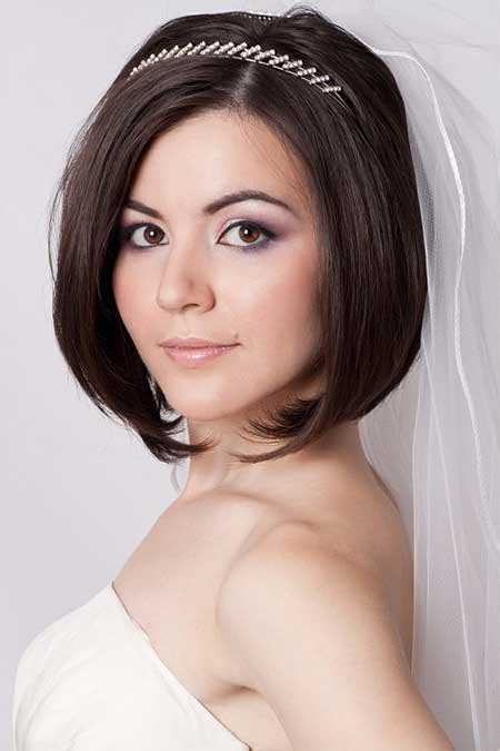25 Wedding Hairstyles for Short Hair   Short Hairstyles