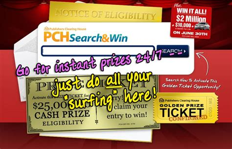 Pch Search And Win Email You Can Win Publishers Clearing House Prizes I Wish I Could Pch
