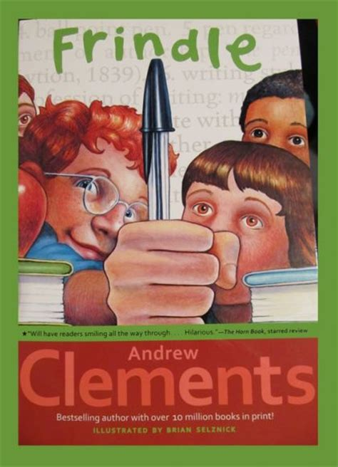 frindle book report andrew clements frindle 9780689818769 on collectorz