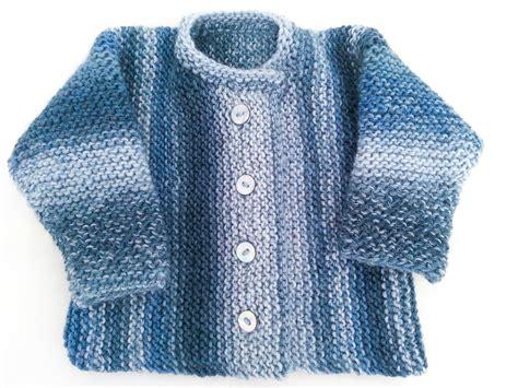sweater pattern knit side to side knitting pattern garter stitch baby cardigan one piece