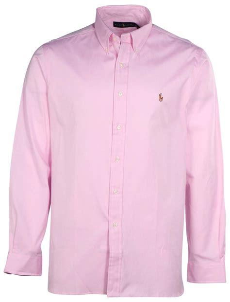 light pink button up shirt polo ralph lauren men s button down long sleeve shirt
