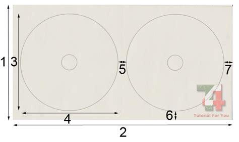 format print kertas cd cara mudah print label cd dengan praktis