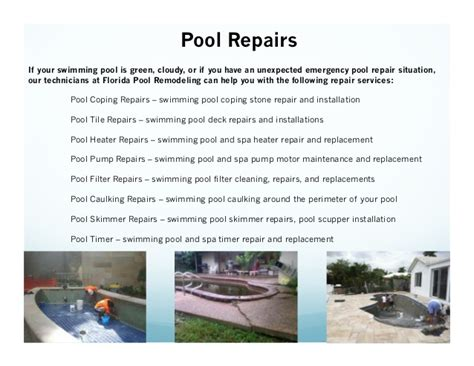 Introduction Letter Swimming Pool Company florida pool remodeling powerpoint