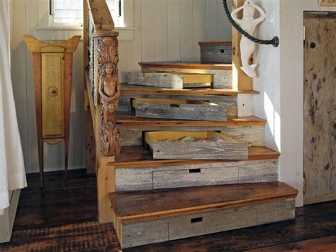 created  stairs drawers plenty  storage space stairs