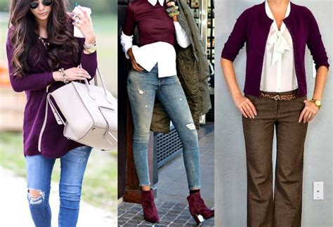 what colors go with colors that go with plum clothes ideas fashion