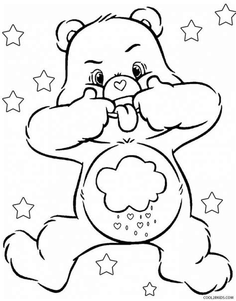 coloring pages care bears printing get this free printable care bear coloring pages for kids