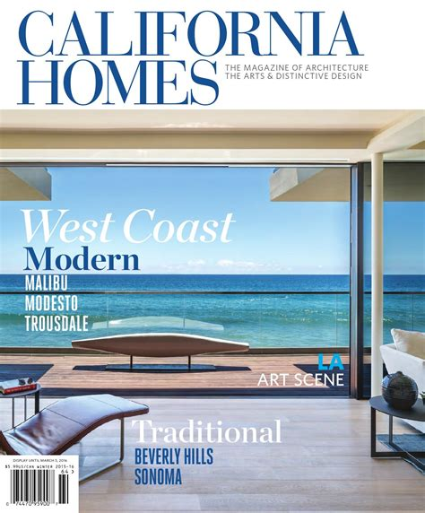 california homes winter 2015 16 by california homes