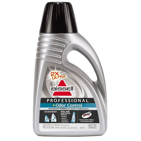 shop bissell 2x ultra concentrated professional odor control 24 oz carpet cleaner at lowes com