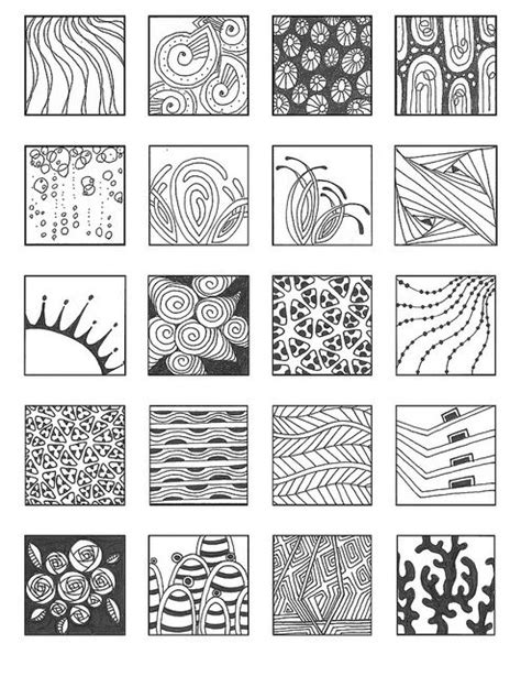 different types of pattern in art zentangle patterns noncat 7 flickr photo sharing picmia