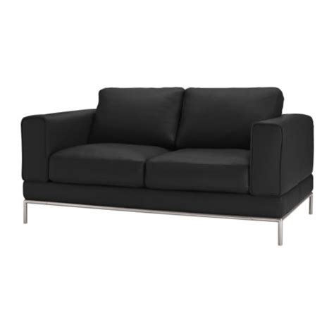 black couch ikea arild two seat sofa karakt 228 r black ikea