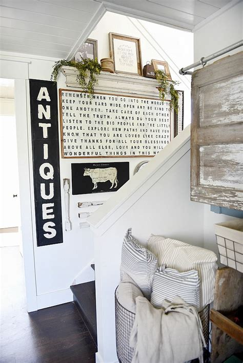 beautiful farmhouse style decorating blogs ideas farmhouse style staircase gallery wall liz marie blog