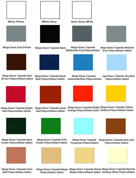 xpress boat paint colors mega gloss 1 part marine topside polyurethane enamel