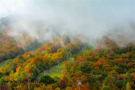 what does past peak in fall foliage terms new