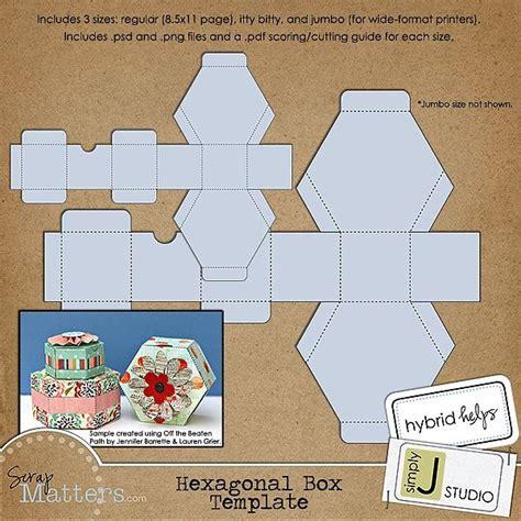 hexagon box template hexagonal box template can i do it