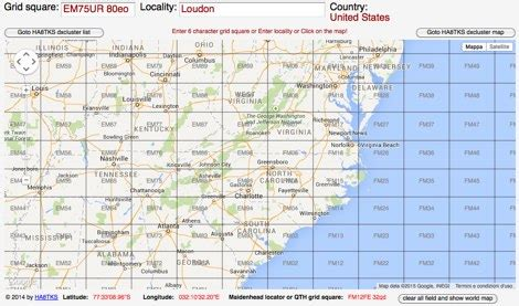 us grid square map pdf grid square map my