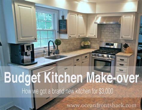 cheap kitchen makeover ideas budget kitchen makeover front shack