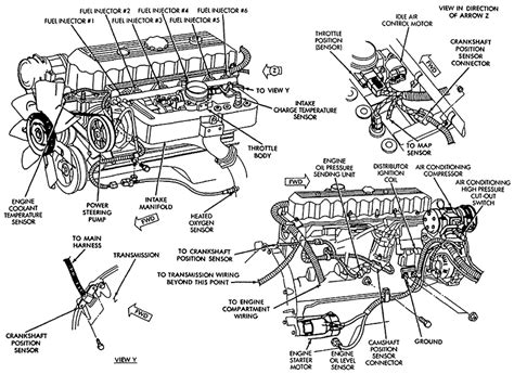 for a 94 jeep wrangler engine diagrams for engine
