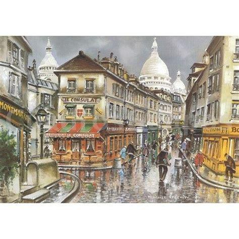 Imagenes Urbanas Abstractas | paris pintura urbana montmartre cuadrosguapos com