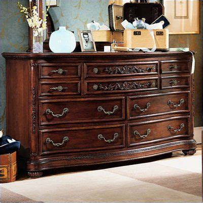 5 drawer cherry wood dresser lea jessica mcclintock heirloom 7 drawer double dresser