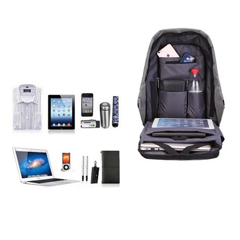 Dell Offers Anti Theft Security Package For Laptops by Multi Function Large Capacity Travel Anti Theft Security