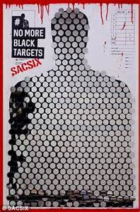invisible no more violence against black and of color books petition to stop using black targets