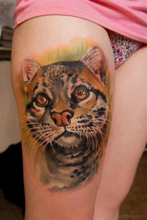 cat tattoo thigh 71 unique cat shoulder tattoos